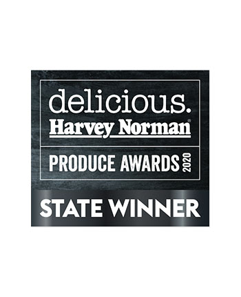 delicious Harvey Norman Produce Awards STATE WINNER 2020